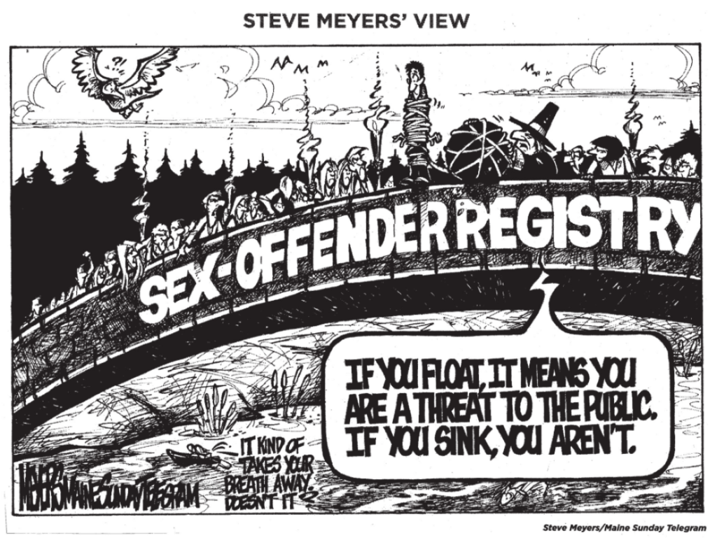 Sex-offender humor from OnceFallen website.