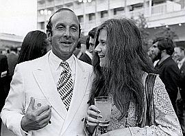 Clive Davis and Janis Joplin