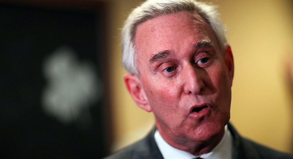 """Get Me Roger Stone"" is in the news."